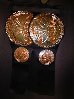 $19.99 • Buy Set Of 2 Child Sized Tag Team Championship Title Belts Mattel Kids Title WWE