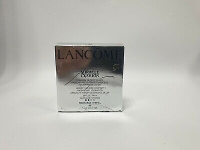 Lancome Miracle Cushion Fluid Foundation Compact Refill 14g *Choose Your Shade* • 10.99£
