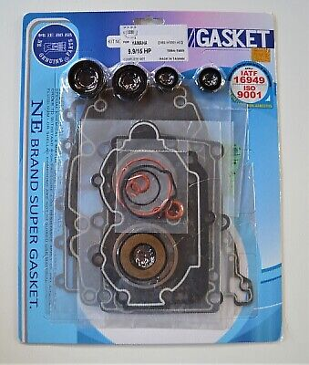 AU143.40 • Buy COMPLETE GASKET & OIL SEAL KIT FOR YAMAHA 2 CYL 9.9-15HP OUTBOARD MOTOR NE Genui