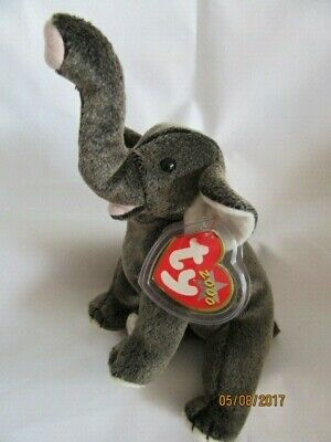 £7.99 • Buy Ty Beanie Baby Trumpet - Elephant  - Mint - Retired With Tags