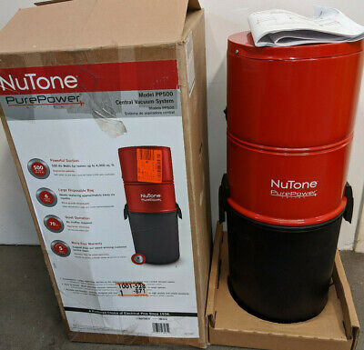 $300 • Buy NuTone Central Vacuum PurePower 500W Hybrid Power Unit (PP500)