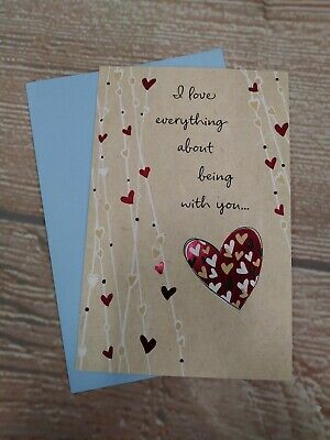 $3.89 • Buy New!  Happy Father's Day  HUSBAND Greeting Card & Envelope  Love Everything....