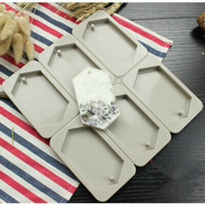 DIY Soap Aromatherapy Homemade Mold Mould Tray Making Silicone Tools • 6.69£