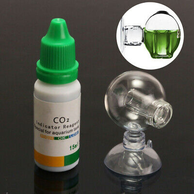 $2.55 • Buy Aquarium Carbon Dioxide CO2 Monitor Glass Drop Ball Checker +Tester PH Indicator