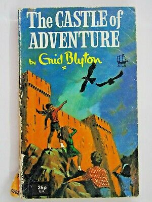 £9.95 • Buy The Castle Of Adventure By Enid Blyton 1974