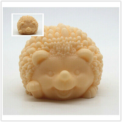Silicone Soap Candle Cake Molds Hedgehog Craft Family DIY Handmade Making Mould • 6.38£