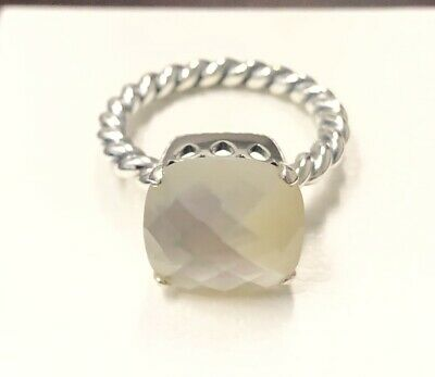 $44.85 • Buy Pandora Sincerity Ring, Mother Of Pearl Path 190828MP ~Choose Size +Gift Box+Tag