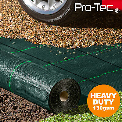 £39.99 • Buy 130gms Commercial Weed Control Fabric Super Heavy Duty Garden Landscape Membrane