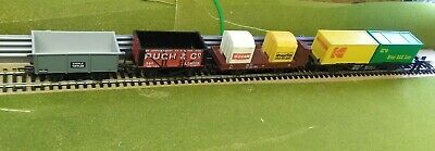 Hornby Bachmann Etc..Container Load Rake Of Wagons.Look.Cheap. • 1.20£