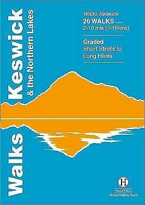 Walks Keswick And The Northern Lakes (Hallewell Pocket Walking Guides) By Richar • 3.89£