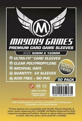 $3.09 • Buy Mayday Boardgame Sleeves Magnum Gold Card Sleeves (50) MINT