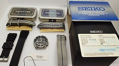 $ CDN415.88 • Buy Seiko SKX007 Automatic Black Dial Stainless Steel 200m Diver Watch 7S26-0020