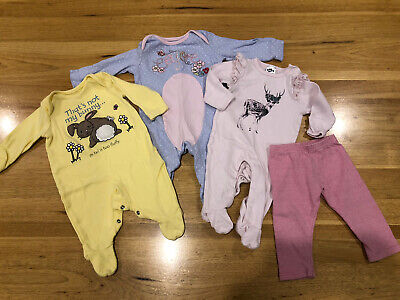 AU5 • Buy Assorted Baby Clothes (Girls) - Size 000 (0-3 Months)