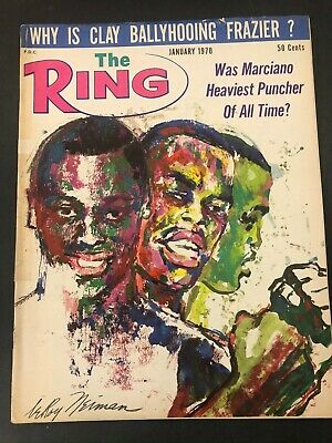 $12.99 • Buy Vtg The Ring Magazine Muhammad Ali Cassius Clay Boxing January 1970