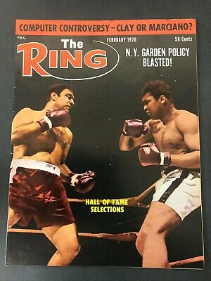 $14.99 • Buy Vtg The Ring Magazine Muhammad Ali Cassius Clay Boxing February 1970