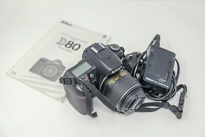 Nikon D80 10.2MP Digital SLR Camera And Lens - Converted To Shoot Infrared Only • 10£