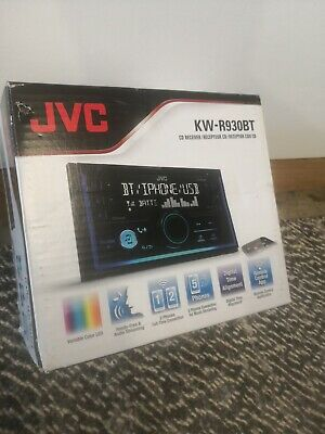 AU43 • Buy JVC KW-R930BT Bluetooth Spotify CD AUX USB FLAC AAC 3-Preouts 2-phone Connection