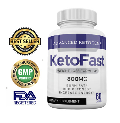 $17.91 • Buy Best Ketofast Weight Loss Advanced Formula 60 Caps Keto Fast