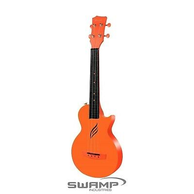 AU134.99 • Buy Enya Nova U Carbon Orange Concert Ukulele With Gig Bag Waterproof Capo Strap