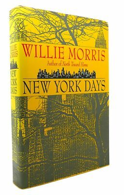 $54.95 • Buy Willie Morris NEW YORK DAYS 1st Edition 2nd Printing