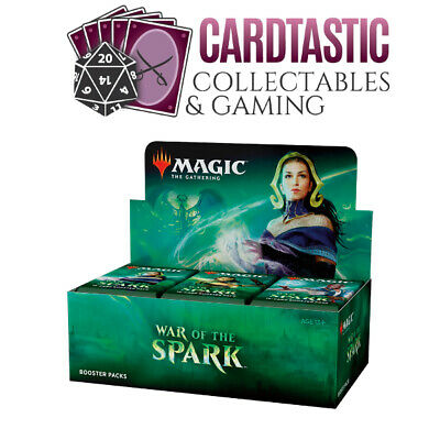 AU160 • Buy Magic The Gathering TCG War Of The Spark Sealed Booster Box