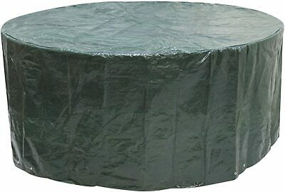 £33.46 • Buy Round Picnic Table 8 Seater 6 Seater Pub Type Waterproof Bench Cover Green NEW