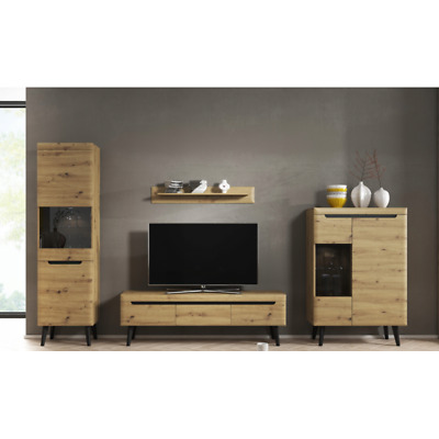 Living Room Furniture Set Tv Unit Display Stand Wall Mounted Cupboard Cabinet • 510£