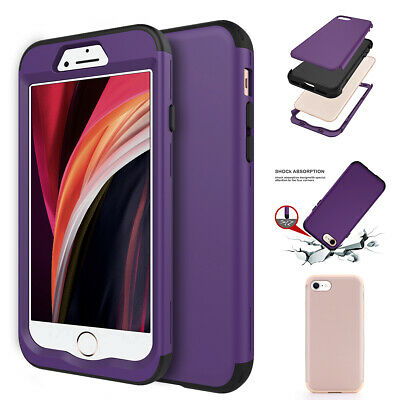AU10.99 • Buy 3 In 1 Dustproof Shockproof Shatter-resistant Case For Apple IPhone SE(2020)/7/8