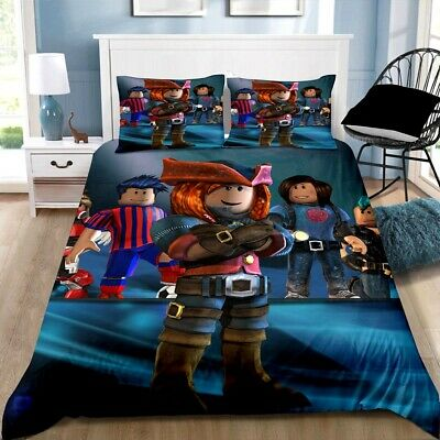 AU42.90 • Buy Roblox Quilt/Doona/Duvet Cover Pillowcase Bedding Set