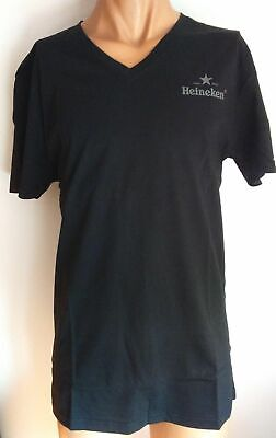 BRAND NEW HEINEKEN T-Shirt Star BLACK - New - XL • 10£