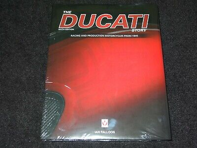 The Ducati Story Racing & Production Motorcycles From 1945 Ian Falloon New, Seal • 23.50£