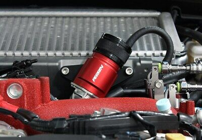 $179.82 • Buy Red Perrin Recirculation Blow Off Valve Kit For 02-07 WRX 04-17 STi
