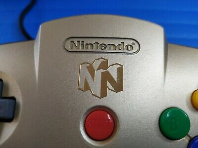AU3000 • Buy [Reserved Item For Ebay Member] Nintendo 64 Gold N Controller, Used Condition