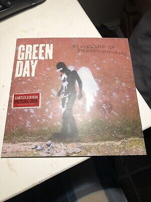 Green Day Boulevard Of Broken Dreams 7  Vinyl Picture Disc Single Never Played • 35£