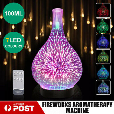 AU45.39 • Buy Devanti Aromatherapy Diffuser 3D Aroma Essential Oils Ultrasonic Air Humidifier