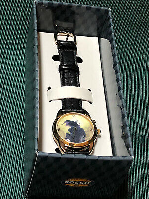 $17.99 • Buy DISNEY MALEFICENT From SLEEPING BEAUTY FOSSIL WATCH! LE 2000, NEW, LOW PRICE!