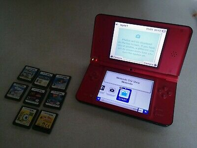 $50 • Buy Nintendo DSi XL Super Mario Bros 25th Anniversary Edition With 8 Games
