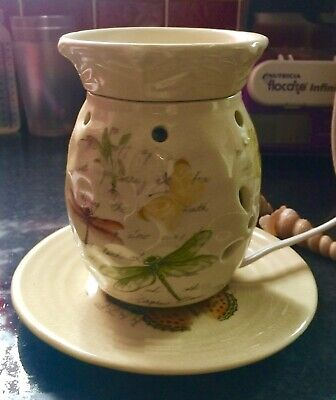 Yankee Candle Beautiful Electric USA Excl Dragonfly Wax Burner Retired Rare New • 39.99£