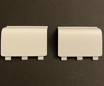 $6.99 • Buy 2x Xbox One Battery Cover For Wireless Controller XB1 Back Cover White