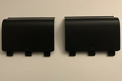 $6.99 • Buy 2x Xbox One Battery Cover For Wireless Controller XB1 Back Cover Black