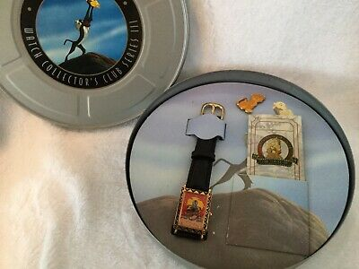 $45 • Buy Disney Store RAFIKI From THE LION KING Wrist Watch By Fossil MIB Limited Edition