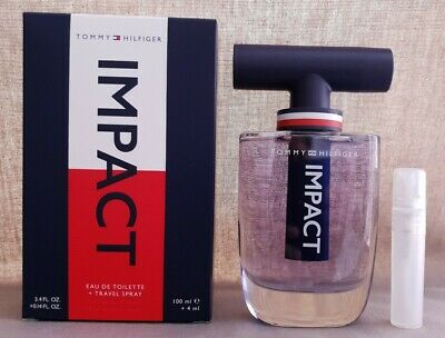 Tommy Hilfiger Impact 5ml Edt Travel Spray Perfume Sample Aftershave For Men • 7.99£