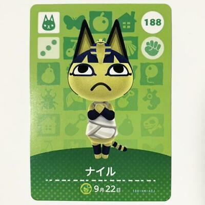 AU77.77 • Buy Nintendo Nairu Ankha 188 Animal Crossing Amiibo Card JAPAN OFFICIAL IMPORT