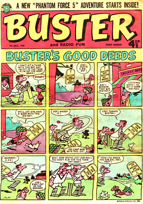BUSTER Comics On DVD Rom For PC  OVER 200 ISSUES!! • 1.99£