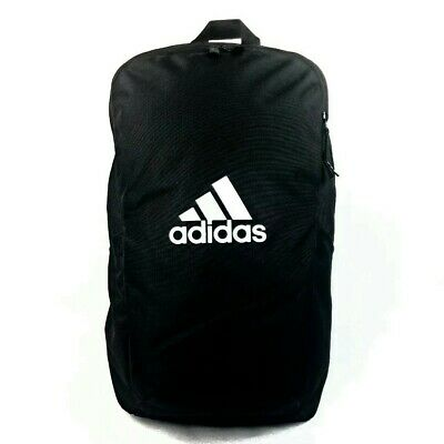 AU56.95 • Buy ADIDAS Perfomance Parkhood  BLACK School Gym Travel Backpack Bag  AU Stock !