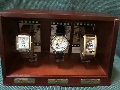 $124.99 • Buy Disney Film Classics Set Of 3 Watches! Mickey Mouse, Goofy & Donald Duck Le 1000