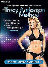 Tracy Anderson Method - Dance Cardio Workout II DVD (2012) NEW SEALED DVD • 1.95£