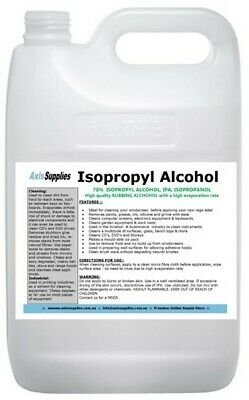 AU39 • Buy 5l 70% Isopropyl Alcohol Isopropanol Ipa Pcb Cleaner Isopro