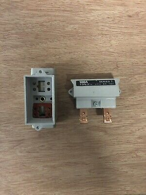 £18 • Buy Wt Henley Cutout Fuse Series 7 Sp 100a (fuse Included)