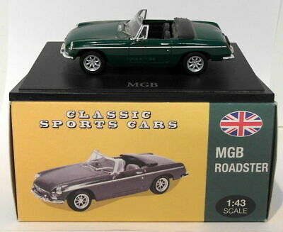 Atlas Editions 1/43 Scale Dioecast 4 656 106 - MGB Roadster - Green • 24.99£